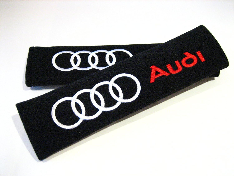 Estilo de carreras almohadillas de cinturó n de seguridad. Quattro A3 A4 A5 A6 RS6 TLC Auto Accessories AUD