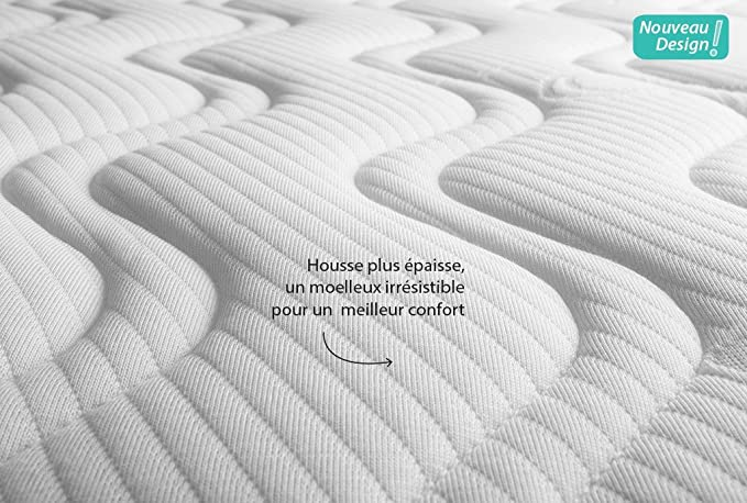 Kadolis colch/ón de l/átex para cama alma Mini 90/x 45/cm color blanco