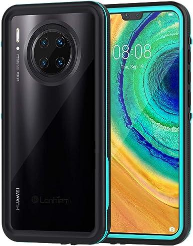 Lanhiem Funda Impermeable Huawei P30 Lite, Carcasa Resistente Al ...