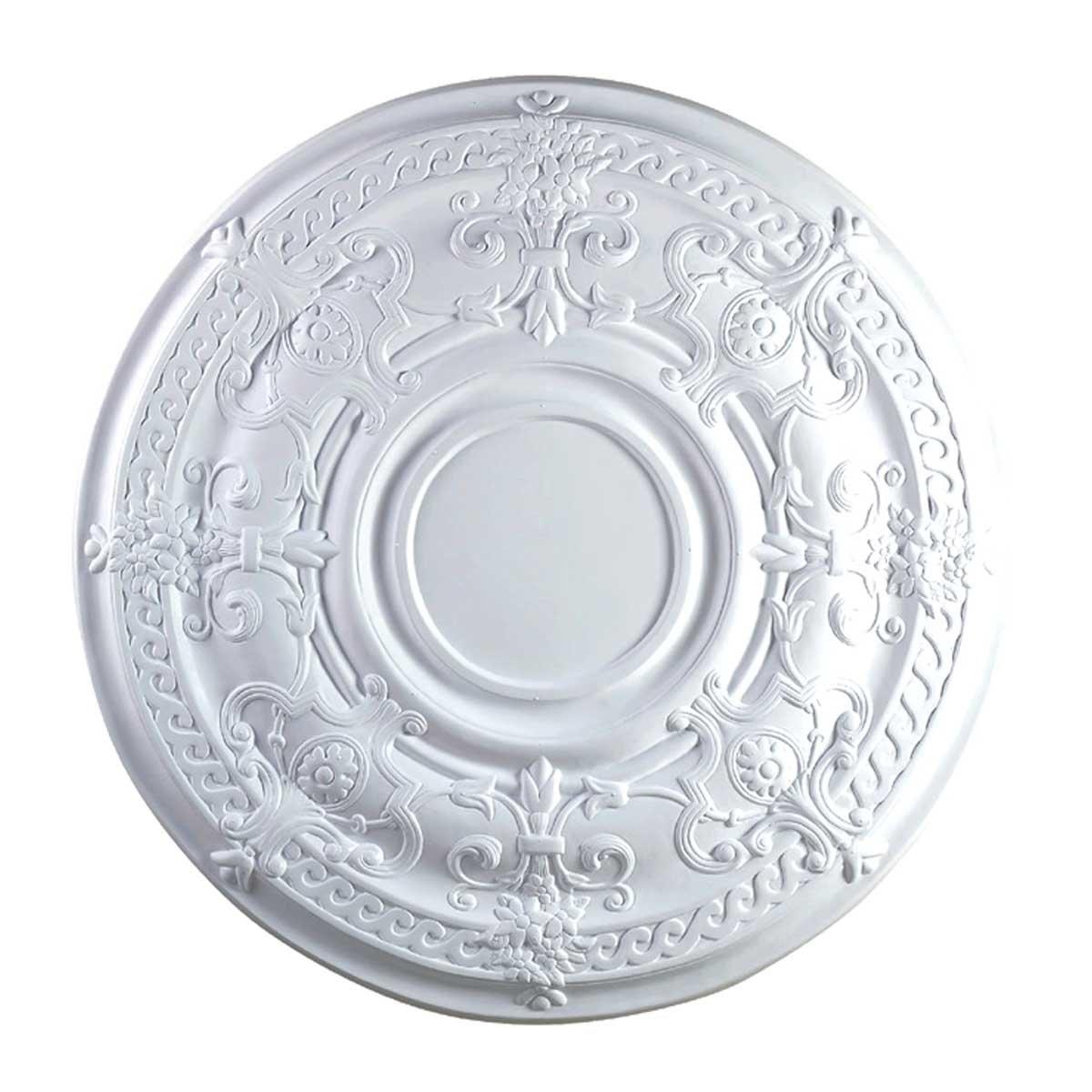 Ceiling Medallion White Urethane 34 1/8'' Diameter | Renovator's Supply