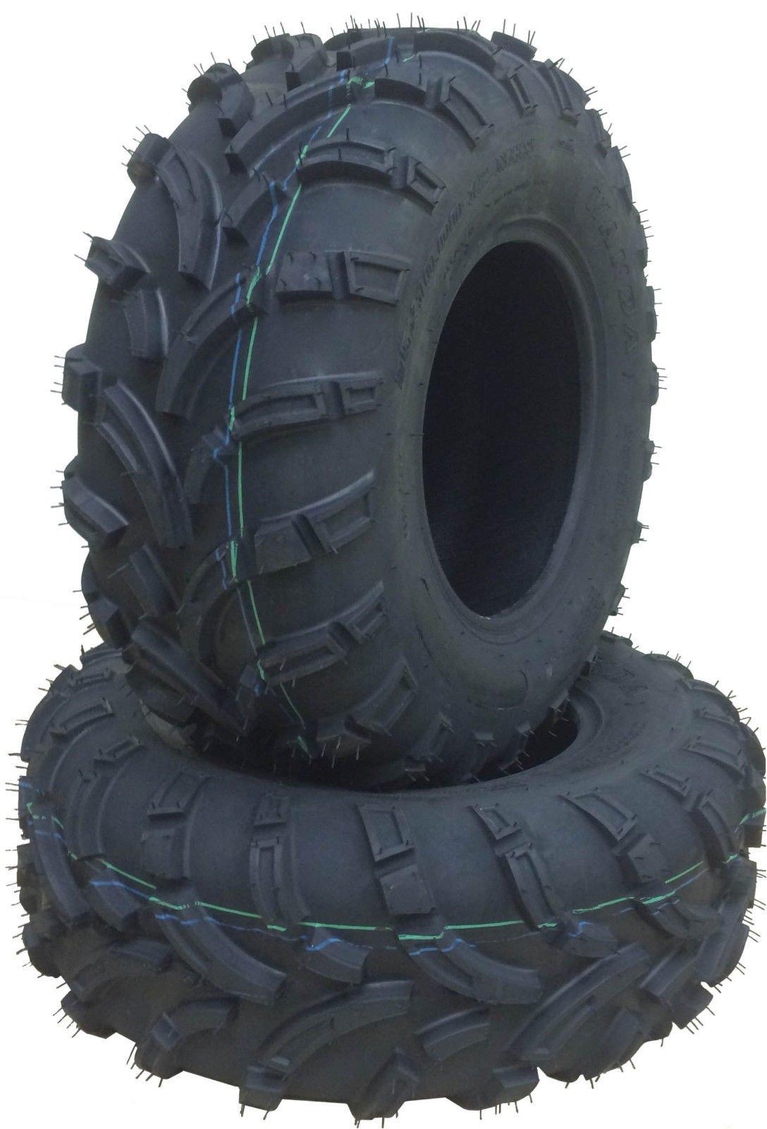 2 New WANDA ATV Tires 25x11-12 25x11x12 /6PR P373A High Load - 10210