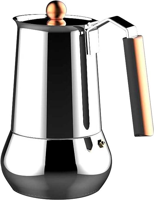 Bergner Infinity Chef Cafetera, Acero Inoxidable, Plateado, 24 cm ...