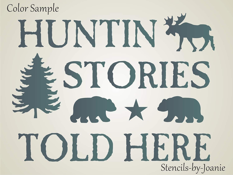 Stencils for Blocks Moose Lodge No Bears Paw Free Ship!