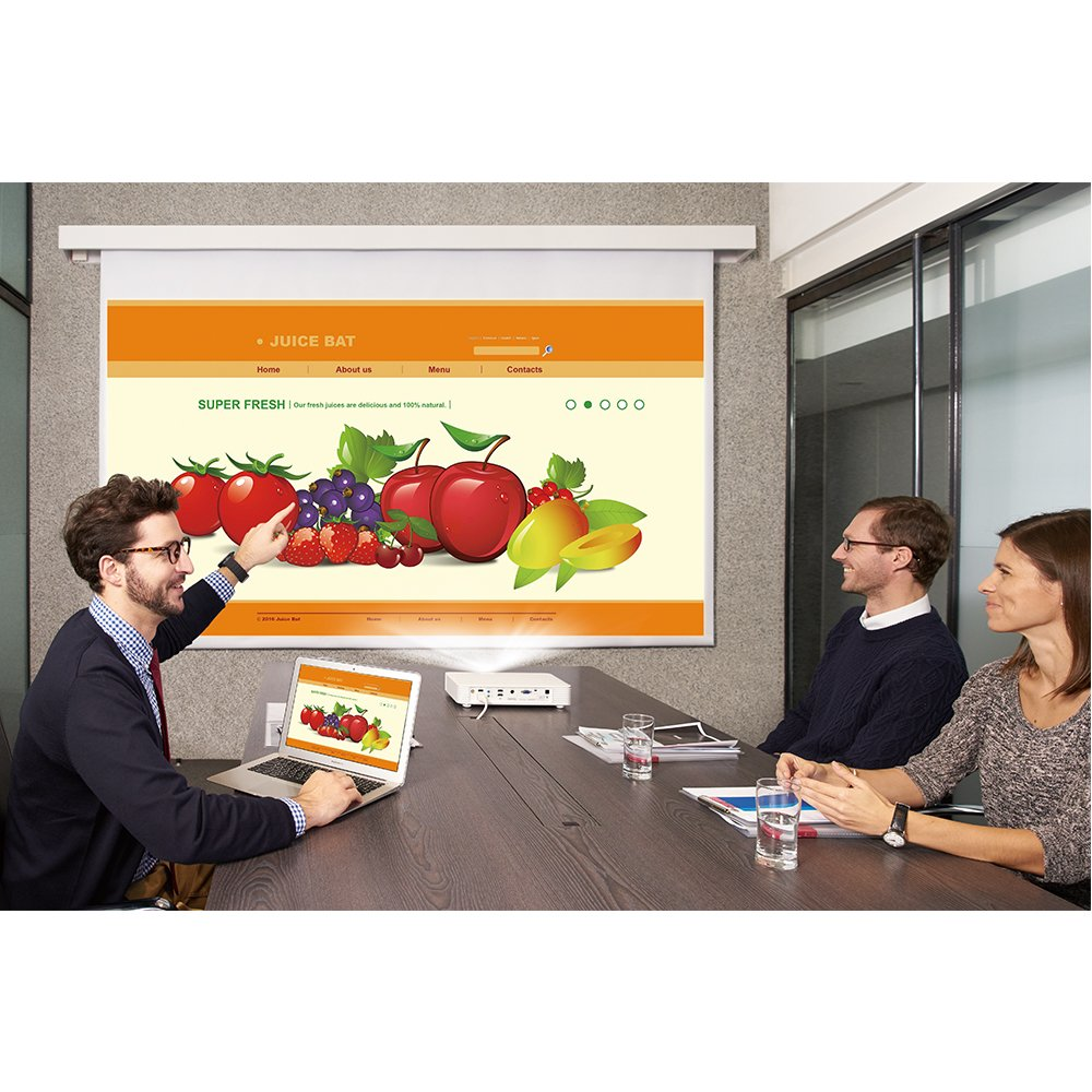 BenQ Wireless LED 1080p Projector (CH100) - Portable Video Projector with DLP Technology by BenQ (Image #5)