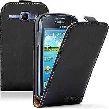 Membrane - Noir Étui Coque compatible pour Samsung Galaxy Core (GT ...