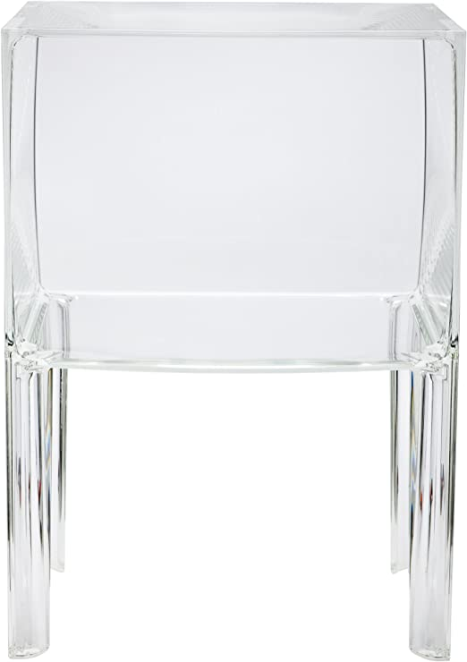 Kartell Ghost Buster Kommode schmal, 1 Fach/glasklar transparent