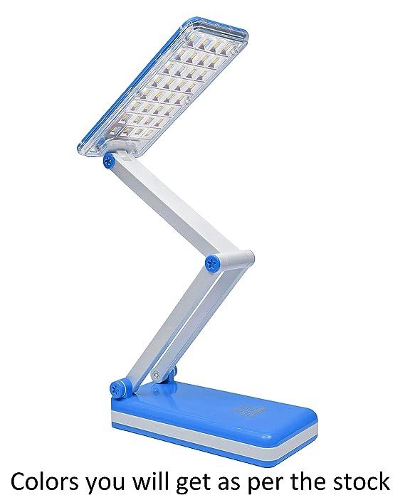 SaleOn� Rechargeable LED Emergency Desk Table Lamp Office Desk Light Folding Desk Lamp USB Charging Lights(Assorted Color)-072