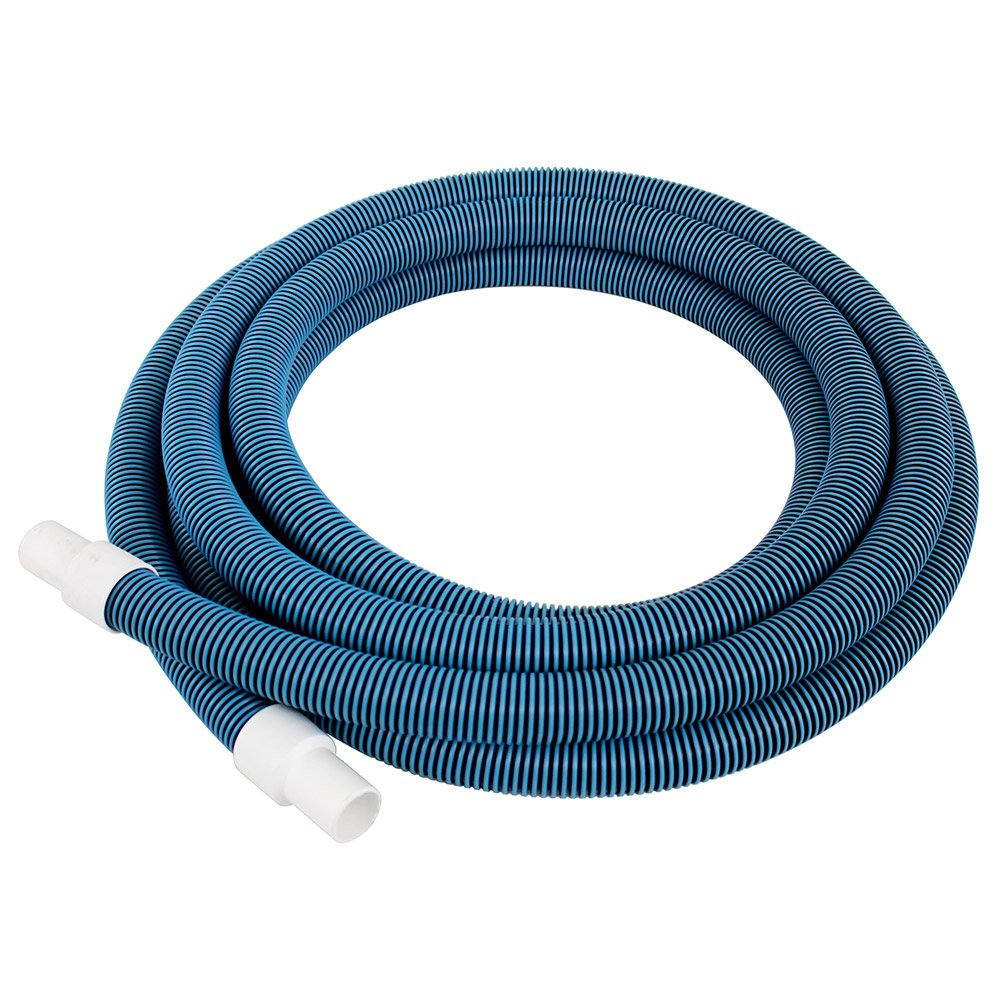 "Pool Mate 520H Premium-Deluxe Blue/Black Spiral Wound Swimming Pool Vacuum Hose, 1-1/4"" X 24'"