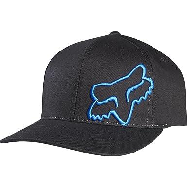 buy popular 0a2b1 f1709 Fox Men s 45 Flex-Fit Hat, Black Blue ...