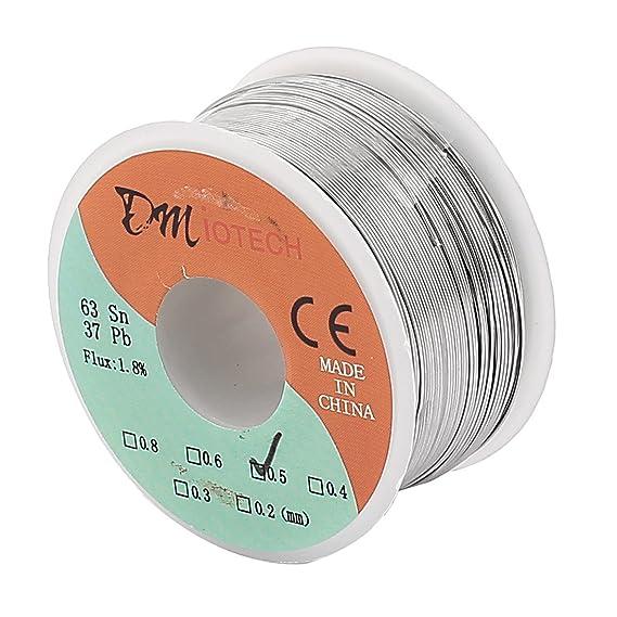 Sourcingmap® 0,4 mm 200 g 60/40 Kolophonium Core Dose führen Rolle ...