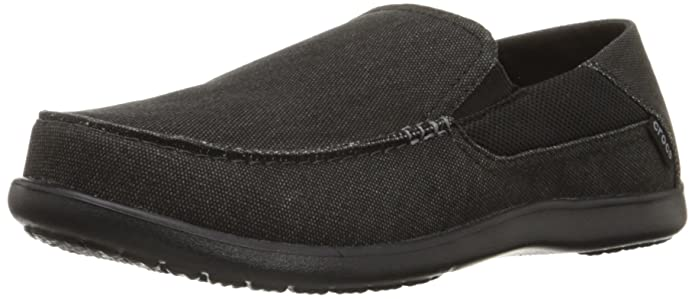 Crocs - Herren Santa Cruz 2 Luxe Loafers EUR: 44.5 Black/Black