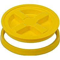 Gamma2 Gamma Seal - Tapas para almacenar Alimentos para Mascotas, Color Amarillo
