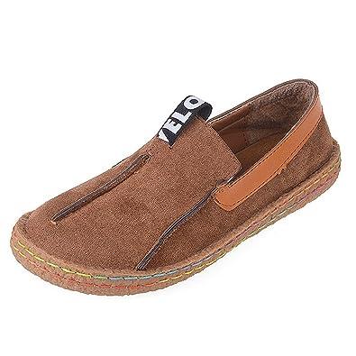 262f749e2c Lazy Footwear Mokassin Bootsschuhe Wildleder Schuhe Comfort Geschlossene  für Damen Mädchen Gr.35-42
