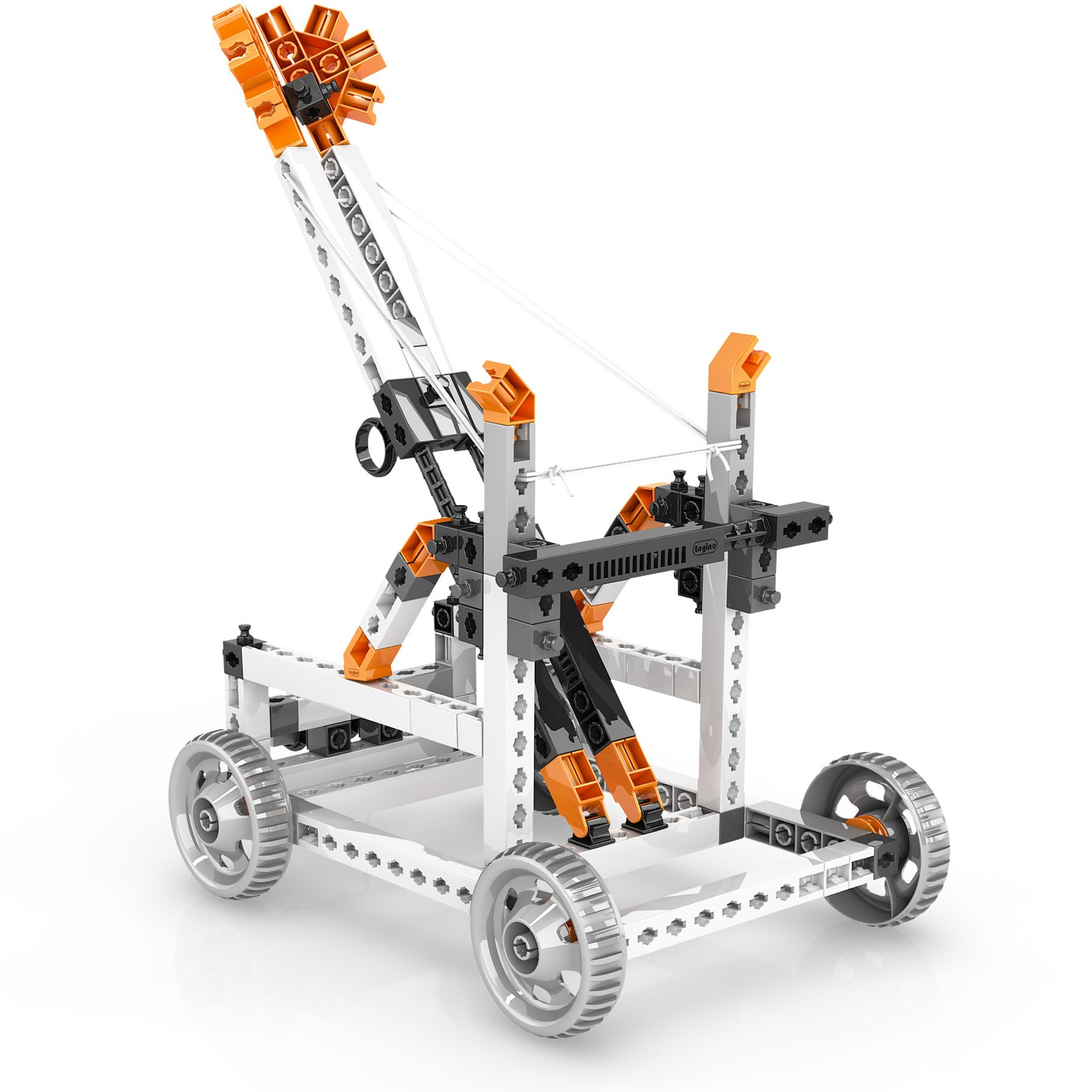 Engino Discovering STEM Simple Machines Mechanisms That Multiply Force Construction Kit by Engino (Image #2)