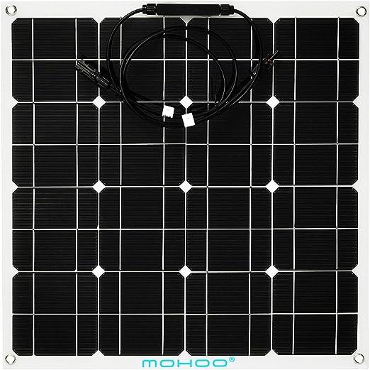 MOHOO 50W Ultra Thin Flexible Solar Panel