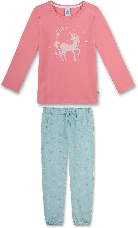 lang Sanetta Mädchen Schlafanzug Set 2-tlg. Blau 98-140 Schmetterling