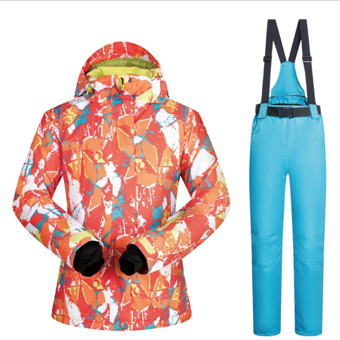 Uzanesx Snowsuit da Donna Winter Below Zero Zero Zero Coat Giacca da Sci e Pantaloni (Coloree   06, Dimensione   S)B07MV2JYZRSmall 02 | Alta qualità ed economico  | comfort  | Forte valore  | Arte Squisita  | Eccellente valore  | Moda moderna ed elegante  b5917f