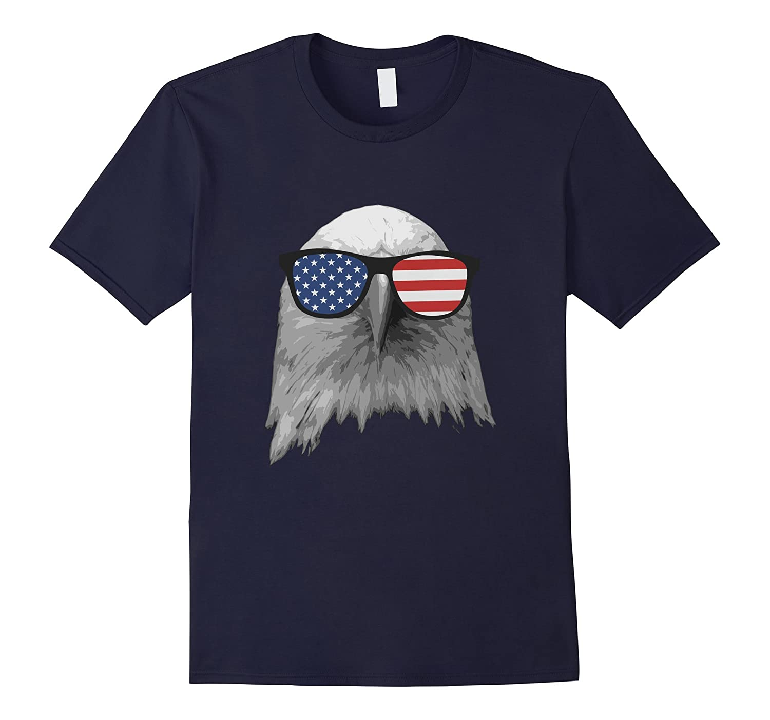 4th Of July Independence Day Eagle T-Shirt-PL