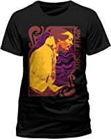 LoudClothing Herren, T-Shirt, JIMI HENDRIX - SOUND WAVES