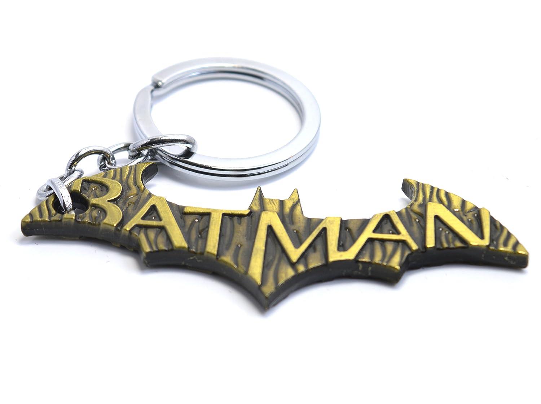 El hombre murciélago Logo - Bronce Llavero de Batman: Amazon ...