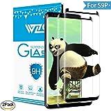 WZS [2-Pack] Vetro Temperato Galaxy S9 Plus, Pellicola Protettiva Vetro Temperato Screen Protector Film Ultra Resistente (0,33mm HD Alta trasparente) per Samsung Galaxy S9 Plus
