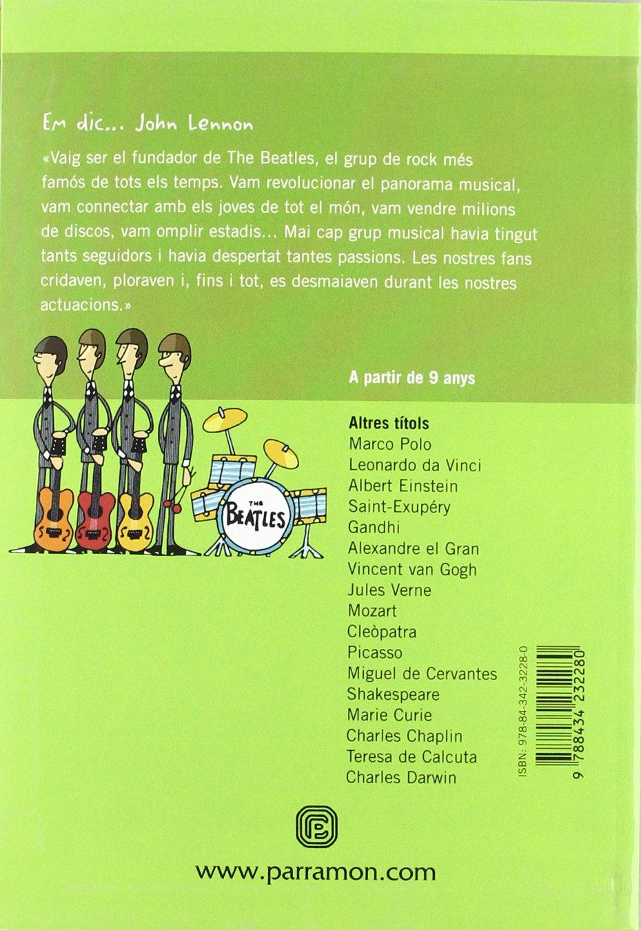 EM DIC… JOHN LENNON (Me llamo): Amazon.es: Gil, Carmen, Vera ...