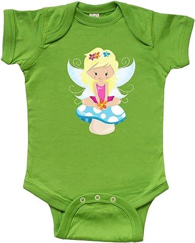 Blonde Hair inktastic Cute Fairy Fairy Sitting on Mushroom Toddler T-Shirt