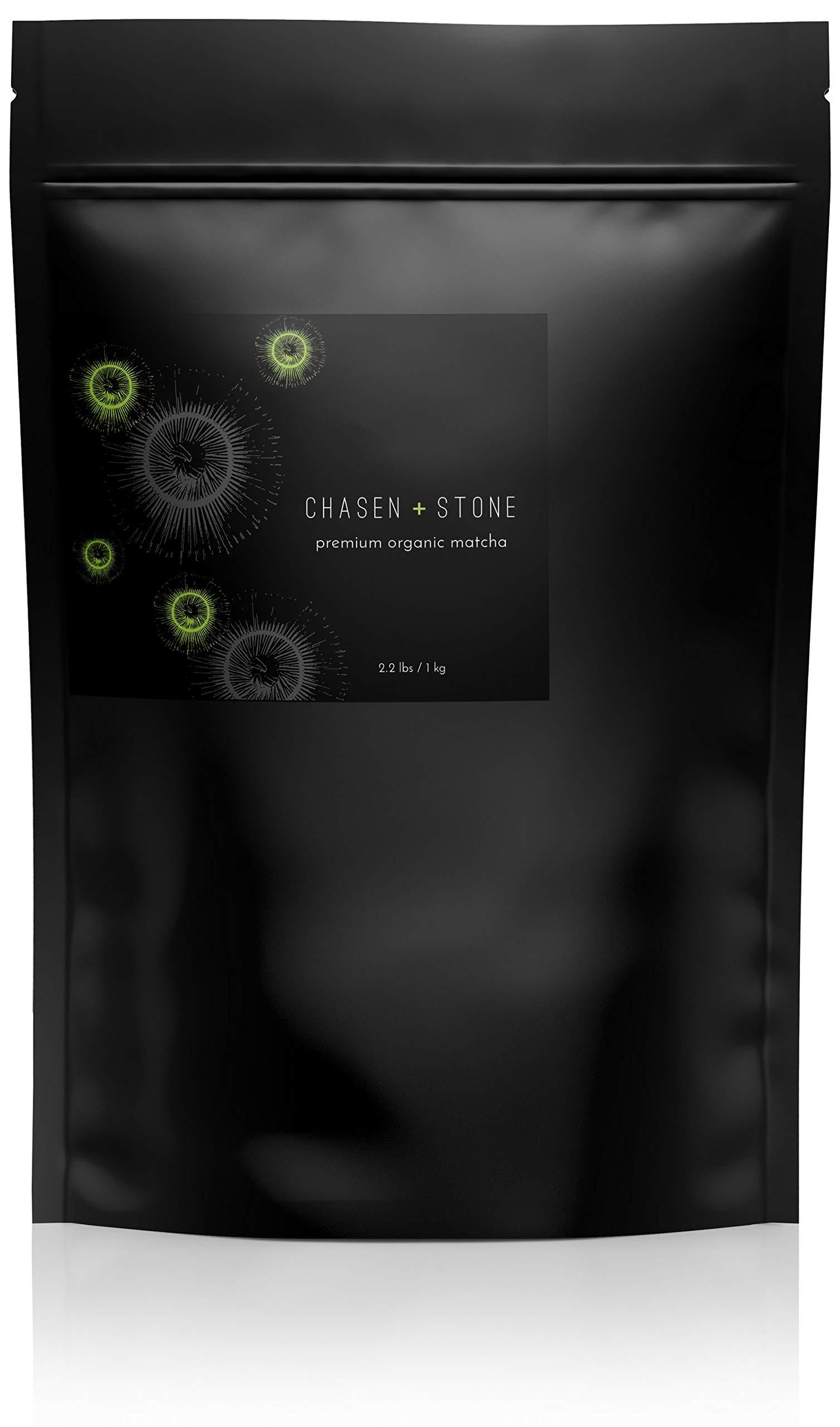 Chasen + Stone Premium Organic Matcha {1 Kg} by Chasen + Stone (Image #1)