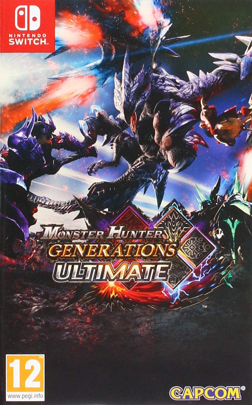 Monster Hunter Generations Ultimate - Nintendo Switch [Importación ...