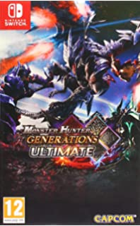 Amazon com: Monster Hunter Generations Ultimate - Nintendo Switch