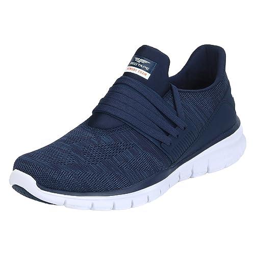 Buy Red Tape Men's Blue Running Shoes