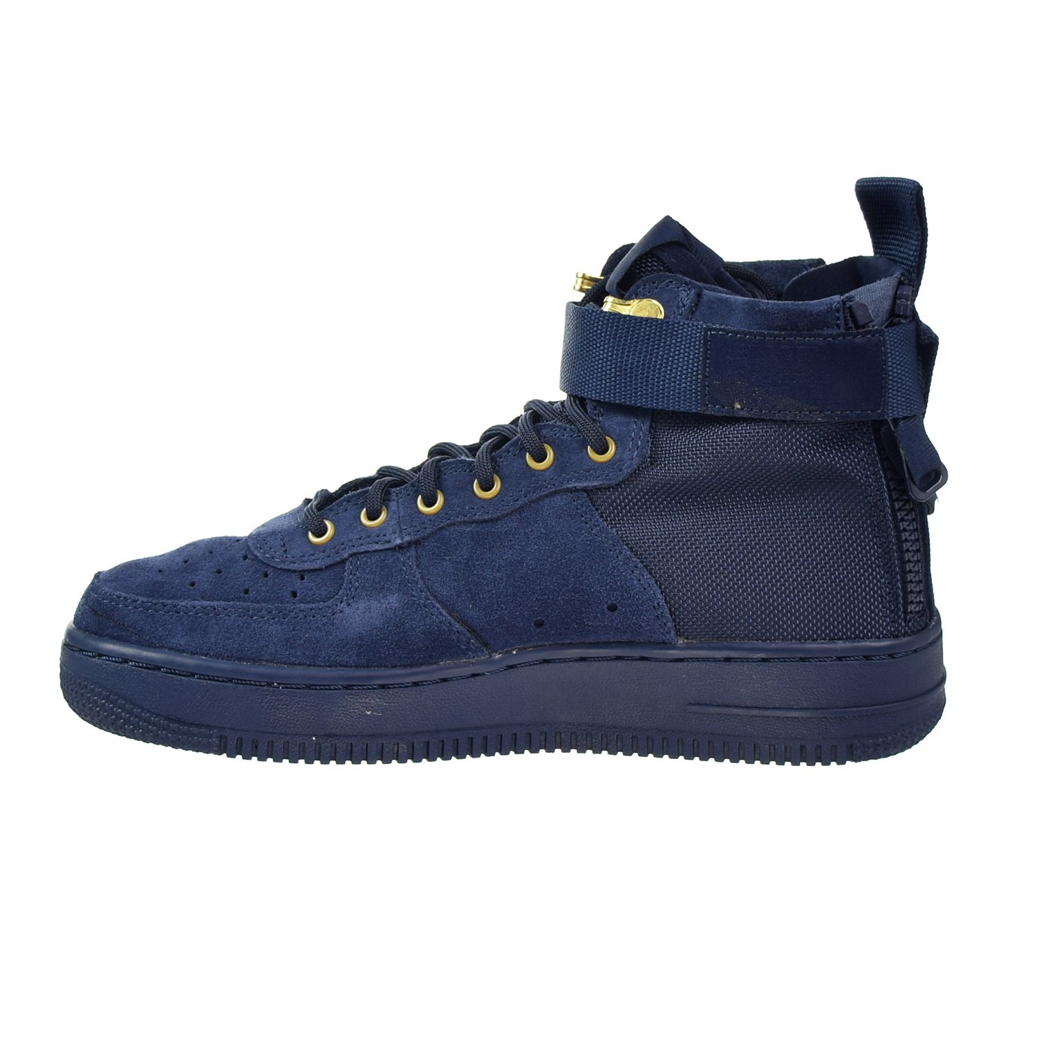 Nike SF AF1 Air Force MID Big Kids Shoes Obsidian Blue/Black aj0424-400 (3.5 M US) by Nike (Image #4)
