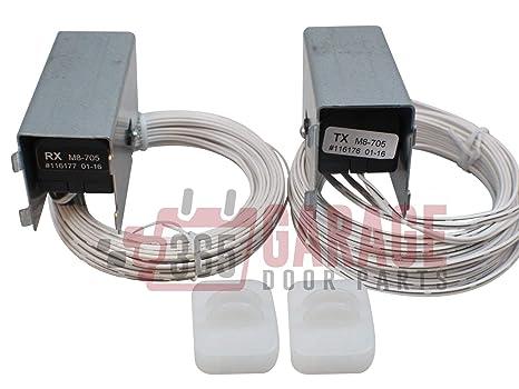 Marantec M8 705 Garage Door Safety Sensors Photo Eye Infrared