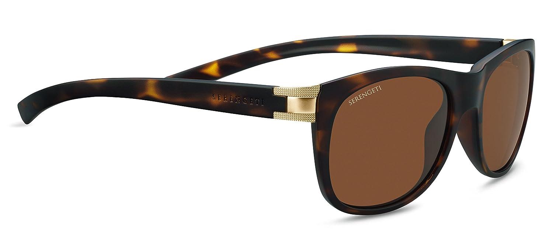 Serengeti Eyewear Erwachsene Scala Sonnenbrille, Sanded Black, Medium