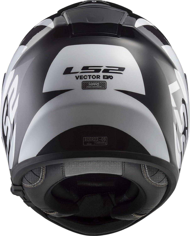 LS2 Vector FF397 Carbon Shine XXS 51//52