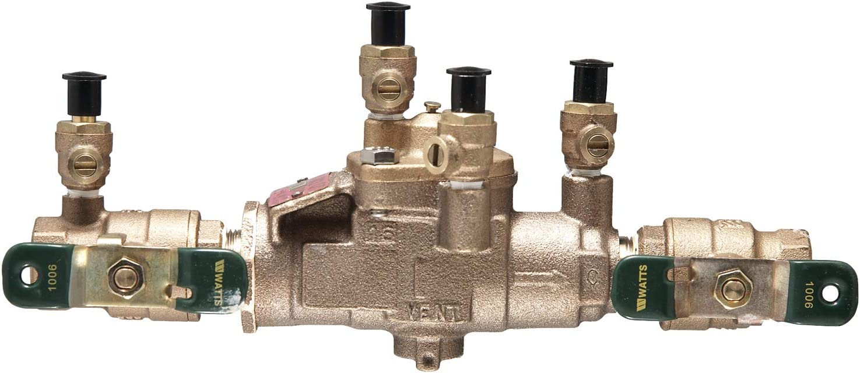 Lead Free Watts Water Technologies Backflow System Low Pressure 1//2 Fip