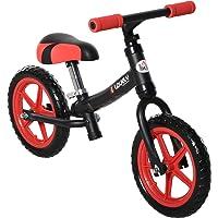 HOMCOM Bicicleta sin Pedales para Niños de +2 Años con Sillín Ajustable en Altura Neumáticos de EVA Carga Máx. 25 kg…