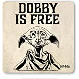 Film - Harry Potter - Dobby Is Free - Coaster - Drink Mat - coloured - original licensed product - LOGOSHIRT