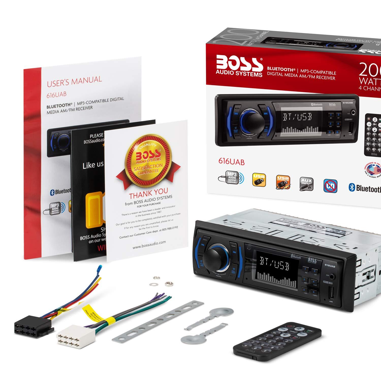 Boss Audio 612ua Multimedia Car Stereo: BOSS Audio 616UAB Multimedia Car Stereo