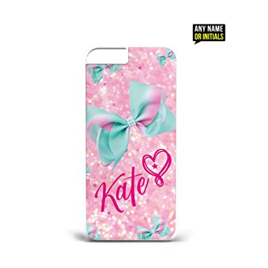 pretty nice a9013 98dc3 YouDezerve Personalised Name Initials Jojo Siwa Phone Case cover for ...