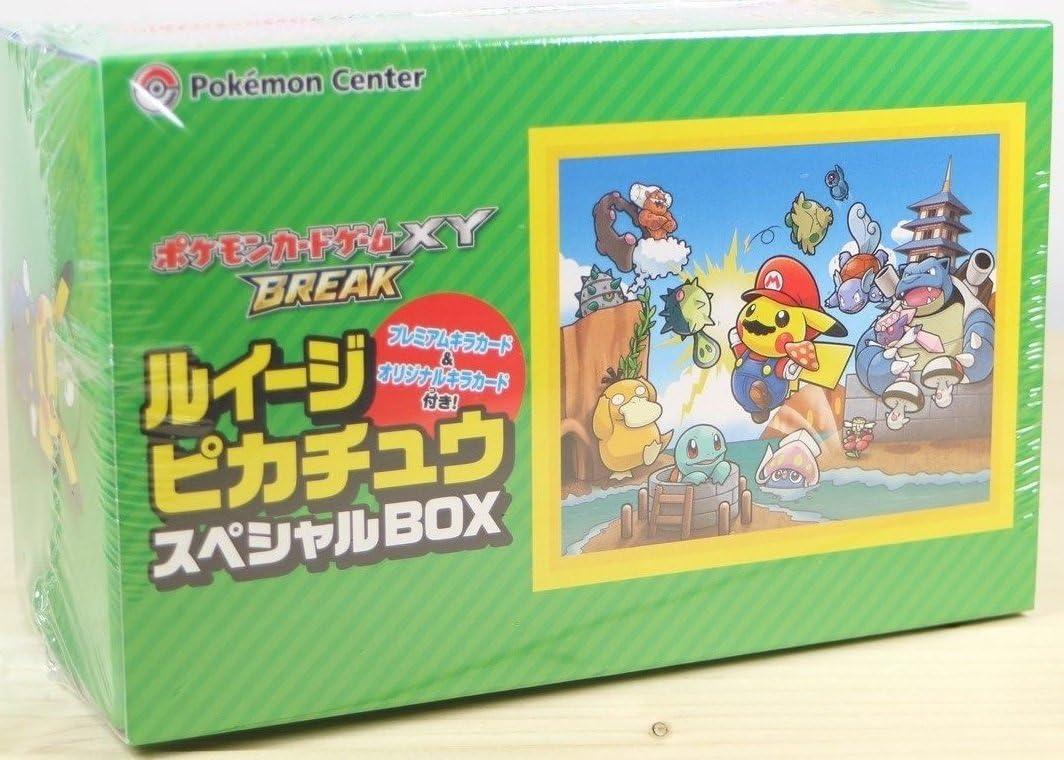 Pokemon juego de cartas XY PAUSA Luigi Pikachu caja especial ...
