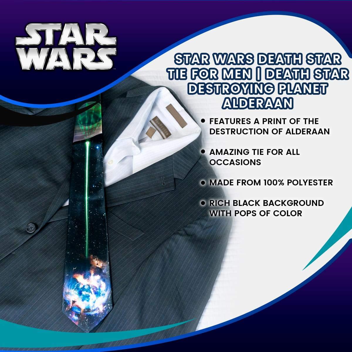 Star Wars Death Star Tie For Men Ropa Death Star Destroying Planet