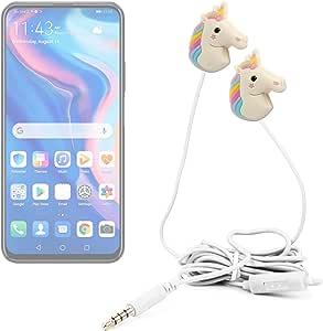 DURAGADGET Auriculares Divertidos in Ear con diseño de Unicornio ...