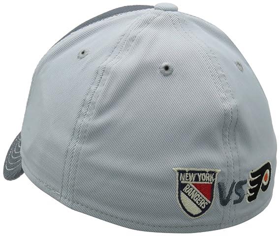 new concept d4420 b9704 Amazon.com   NHL New York Rangers vs. Philadelphia Flyers Winter Classic  Structured Flex Fit Hat   Sports Fan Baseball Caps   Clothing