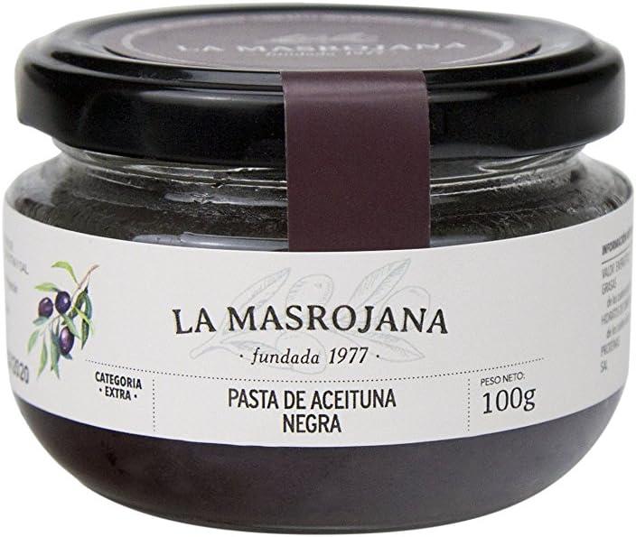 La Masrojana, Paté de aceituna (Negras) - 100 gr.: Amazon.es ...