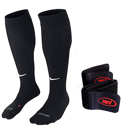 792dc7ea6 Nike Unisex Classic II Cushion Over-the-Calf Soccer Sock With One Pair  Xportsworld