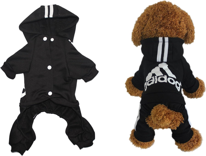 Scheppend Adidog Gro/ßer Hund Hoodies Haustier-Sweatshirt Wintermantel Sportkleidung