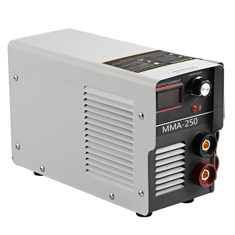 Edited 250 Ampere portátil electrónico sudor eléctrica 220 V soldador IGBT Inverter metal bogensch blancas automática caliente Start, ...