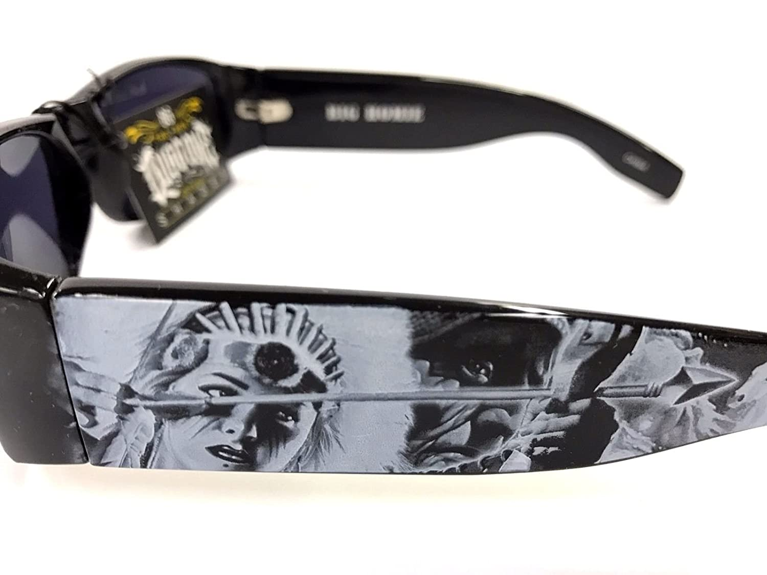 Dyse One Shades American Indian Arrow Black Sunglasses ...