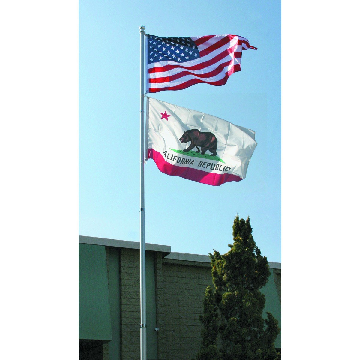 20 Ft. Telescoping Flag Pole from TNM